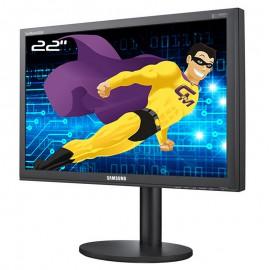 "Ecran 22"" SAMSUNG SyncMaster B2240W LS22CBKMBV/EN VGA DVI 1680x1050 Wide 16:10"