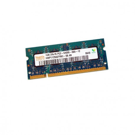 1Go RAM PC Portable SODIMM Hynix HMP112S6EFR6C-S6 DDR2 800Mhz PC2-6400S CL6