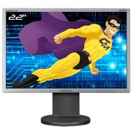 """Ecran 22"""" SAMSUNG SyncMaster 2243EW LS22MYDESCA/EN VGA DVI 1680x1050 Wide 16:10"""