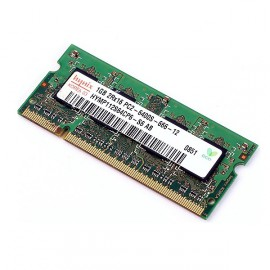 RAM PC Portable SODIMM Hynix HYMP112S64CP6-S6 AB DDR2 800Mhz 1Go PC2-6400S CL5