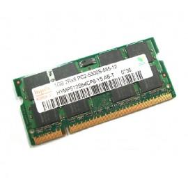 1Go RAM PC Portable SODIMM Hynix HYMP512S64CP8-Y5 AB-T DDR2 667Mhz PC2-5300S CL5