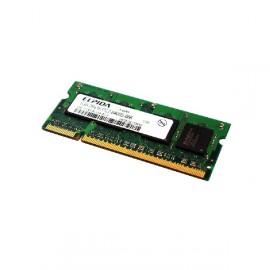 1Go RAM PC Portable ELPIDA EBE11UE6ACUA-8G-E SODIMM DDR2 800Mhz PC2-6400S CL6