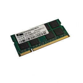 RAM PC Portable SODIMM ProMOS V916765G24QCFW-F5 DDR2 667Mhz 1Go PC2-5300S CL5