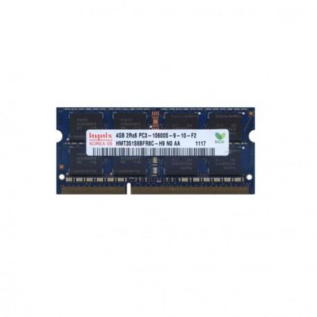 Barrette Mémoire RAM Sodimm 4Go DDR3 PC3-10600S Hynix HMT351S6BFR8C-H9 N0 CL9