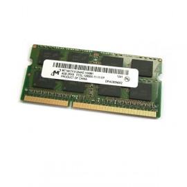 4Go RAM Micron MT16KTF51264HZ-1G6M1 SODIMM DDR3 PC3L-12800S 2Rx8 1.35v CL11