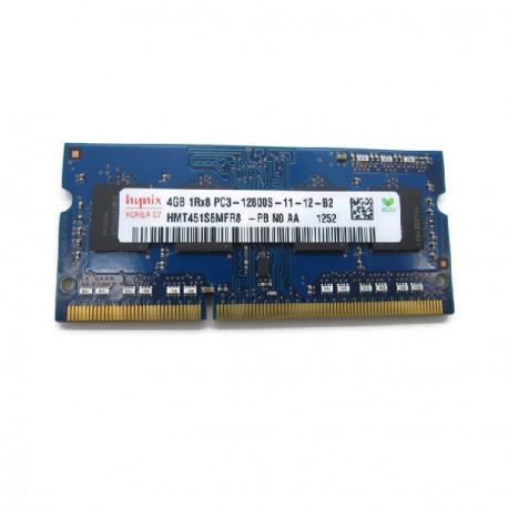 Barrette Mémoire RAM Sodimm 4Go DDR3 PC3-12800S Hynix HMT451S6MFR8A-PB N0 CL11