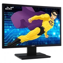 "Ecran Plat PC 22"" ACER V226WLbd UM.EV6EE.001 VGA DVI-D 1680x1050 Wide 16:10"