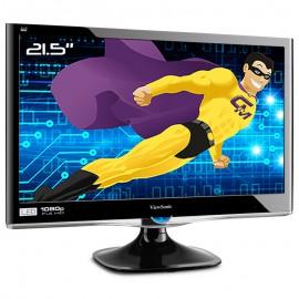 "Ecran Plat PC 21.5"" ViewSonic VX2250wm-LED VS13239 VGA DVI-D 1920x1080 Wide 16:9"