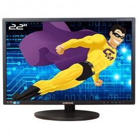 "Ecran 22"" SAMSUNG SyncMaster S22B420BW LS22B420BWV/EN VGA DVI WideScreen 16:10"