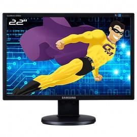 "Ecran 22"" SAMSUNG SyncMaster 2243NW LS22MYNKBBA/EN TFT VGA 1680x1050 Wide 16:10"