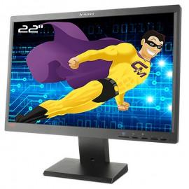 """Ecran PC Pro 22"""" Lenovo ThinkVision L2250pwD 45J8741 LCD VGA DVI-D 1680x1050"""