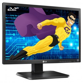 "Ecran PC Pro 22"" LG Flatron 22EB23PY-B 22EB23PYC LED VGA DVI-D Display USB 16:10"