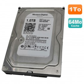 "Disque Dur 1To 3.5"" SATA III WD Recertified WD10EZRX-00A3KB0 7200RPM 64Mo"