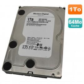 "Disque Dur 1To SATA 3.5"" Western Digital Recertified WD10EZRZ-00Z5HB0 5.4K 64Mo"