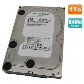 "Disque Dur 1To SATA 3.5"" Western Digital Recertified WD10EZRZ-00Z5HB0 5.4K 64Mo"