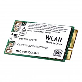 Mini-Carte Wifi Dell ANATEL WM3945ABG 0PC193 0151-06-2198 PCI-e 802.11ab WLAN