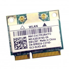 Mini-Carte Wifi Dell DW1397 BCM94312HMG 0FR016 FR016 PCIe 802.11bgn WLAN