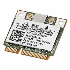 Mini-Carte Wifi Dell DW1520 BCM943224HMS 0KVCX1 KVCX1 PCIe 802.11bgn WLAN