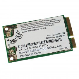 Mini-Carte Wifi HP ANATEL WM3945ABG 407576-002 0151-06-2198 PCI-e 802.11abg WLAN