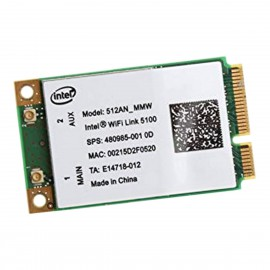 Mini-Carte Wifi Intel Link 5100 512AN_MMW PD9512ANM PCI-e 802.11a/b/n WLAN