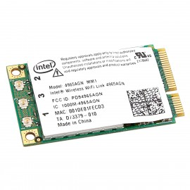 Mini-Carte Wifi Intel 4965AGN_MM2 0578-07-2198 001F3B4D5F17 PCI-e 802.11a/g/n