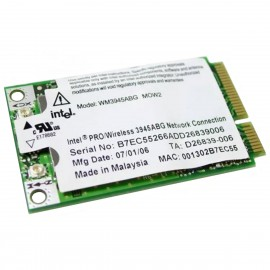 Mini-Carte Wifi Intel PRO 3945ABG WM3945ABG MOW2 PCI-e 802.11abg WLAN