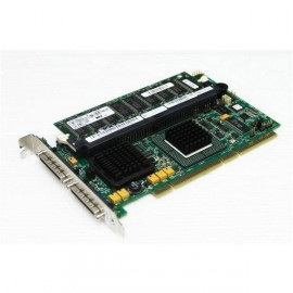 Carte PCI-X SCSI LSI NK025 Raid PERC4/DC Pro Serveur DELL PowerEdge