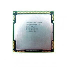 Processeur CPU Intel Core I5-650 Dual Core 3.2Ghz Socket LGA1156 SLBTJ PC
