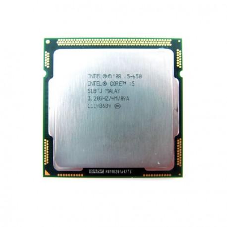 Processeur CPU Intel Core I5-650 Dual Core 3.2Ghz Socket LGA1156 SLBTJ PC