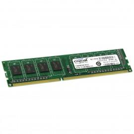2Go RAM Crucial CT25664BA160B.C8FED2 DDR3 PC3-12800U 1600Mhz 240-Pin DIMM