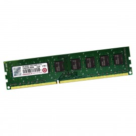 4Go RAM Transcend TS512MLK64V6N DDR3 240-Pin PC3-12800U 1600Mhz 1.5v 2Rx8 CL11