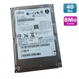 "Disque Dur 40Go SATA 2.5"" FUJITSU MHV2040BH PL CA06672-B23000DL PC Portable 8Mo"