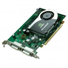 Carte HP NVIDIA Quadro FX370 P588 454318-001 456136-001 PCIe 256Mo DDR3 Dual DVI