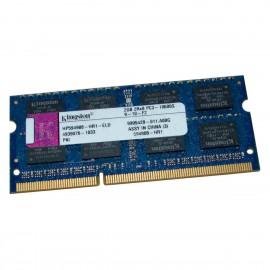 2Go RAM Kingston HP594908-HR1-ELD SODIMM DDR3 PC3-10600S 204Pin 1333MHz 2Rx8 CL9