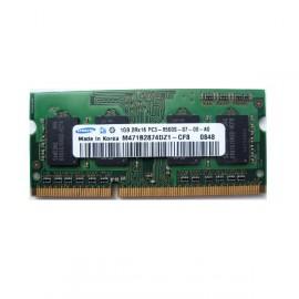 1Go RAM PC Portable SODIMM Samsung M471B2874DZ1-CF8 PC3-8500S 1066MHz DDR3