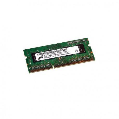 1Go RAM PC Portable SODIMM Micron MT8JSF12864HZ-1G1D1 DDR3 1066MHz PC3-8500S CL7