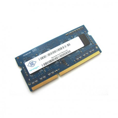 1Go RAM PC Portable SODIMM Nanya NT1GC64BH4B0PS-CG DDR3 PC3-10600S 1333MHz CL9