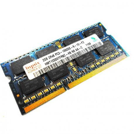 2Go RAM PC Portable SODIMM Hynix HMT125S6TFR8C-H9 DDR3 PC3-10600S 1333MHz CL9