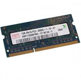 1Go RAM PC Portable SODIMM Hynix HMT112S6BFR6C-G7 DDR3 PC3-8500 1066MHz CL7