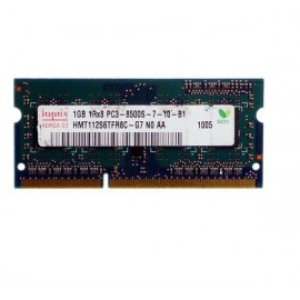 1Go RAM PC Portable SODIMM Hynix HMT112S6TFR8C-G7 DDR3 PC3-8500S 1066MHz CL7