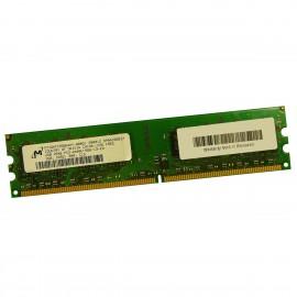 2Go RAM Micron MT16HTF25664AY-800G1 DDR2 PC2-6400U 800Mhz 240-Pin 2Rx8 PC Bureau