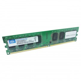 2Go RAM Team Group TVDD2048M667C5 DIMM DDR2 PC2-6400U 800Mhz 240-Pin