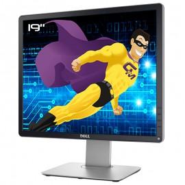 """Ecran PC 19"""" Dell P1914Sf 082K5X LED TFT IPS VGA DVI-D Display USB 5:4 1280x1024"""