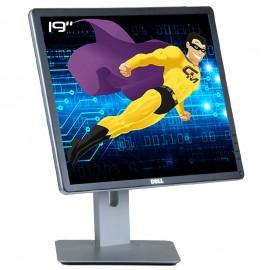 """Ecran PC 19"""" Dell P1914Sc 0K81JT LED TFT IPS VGA DVI-D Display USB 5:4 1280x1024"""