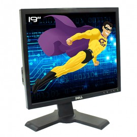 """Ecran PC Pro 19"""" Dell P190Sf 0HPFYK HPFYK LCD TFT TN VGA DVI-D USB 5:4 1280x1024"""