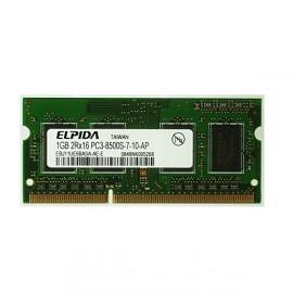 1Go RAM PC Portable SODIMM Elpida EBJ11UE6BASA-AE-E DDR3 PC3-8500S 1066MHz CL7