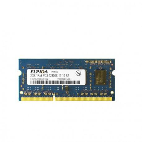 2Go RAM PC Portable SODIMM Elpida EBJ20UF8BDU0-GN-F DDR3 PC3-12800S 1600MHz CL11