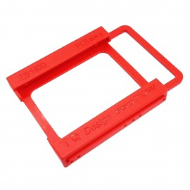"Rack 3.5"" vers 2.5"" SSD Disque Dur TQ Design SSDnow Tiroir Rouge NEUF"
