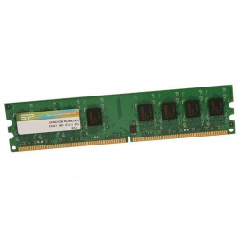 2Go RAM Silicon Power SP002GBLRU800S02 DDR2 PC2-6400U 800Mhz 240-Pin 1.8v CL5