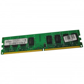 2Go RAM STAREX STT200UD0825-800A DIMM DDR2 PC2-6400U 800Mhz CL5